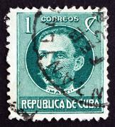 Postimerkki Kuuba 1917 Jose Marti, Revolutionary Kuvituskuvat
