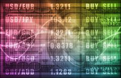 investment portfolio - stock illustration