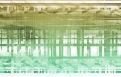 Stock Illustration of advanced technology