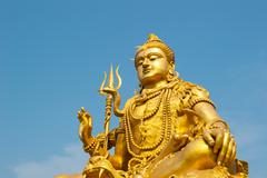 Statue of Lord Shiva Stock Photos