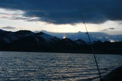 Fishing Pole - stock photo