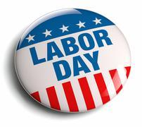 labor day - stock illustration