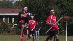 Stock Video Footage of Quidditch - Chaser Scores