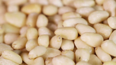 CU Pine nut Stock Footage
