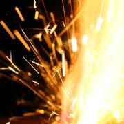 Stock Photo of abstract spark