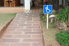 Handicapped ramps Stock Photos