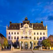 University of Ljubljana, Slovenia, Europe. Stock Photos