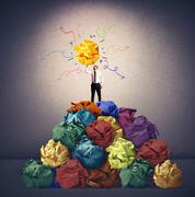 creative idea - stock illustration