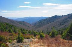 View from the appalachian trail Stock Photos