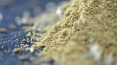 Caraway powder (loopable) Stock Footage