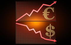 stock market graph - stock illustration