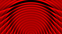 Deco Deep Red Looping Abstract Motion Background 26 Stock Footage