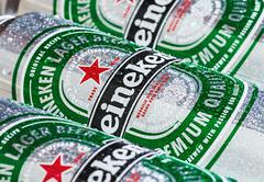 heineken dutch brewing - stock photo