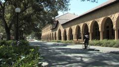 Stanford Campus Static Stock Footage