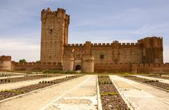 Stock Photo of castle of the mota in medina del campo,valladolid,spain
