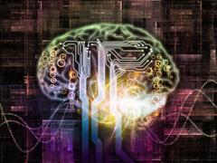 Brain Pathways Stock Illustration