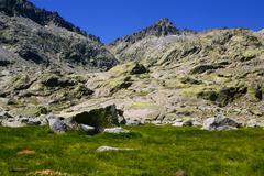 Gredos mountains in avila spain Stock Photos