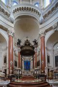 Carmelite church altar Stock Photos