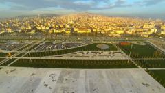 New meeting and recreational area in Istanbul Stock Footage