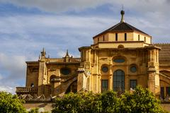 mezquita (mosque)/cathedral bell tower, cordoba, cordoba province, andalusia, - stock photo
