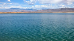 Rippling Water Lake Meade Stock Footage