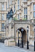 The palace of westminster Stock Photos