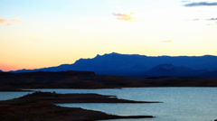 Sunrise at Lake Meade Stock Footage