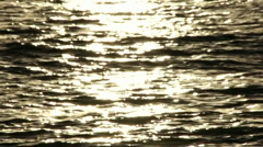 Sun and sea background Stock Footage