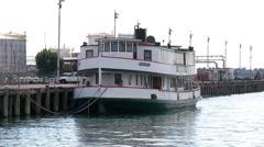 Kestrel historic ferry, Auckland Stock Footage