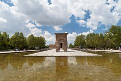 Templo Debod Stock Photos