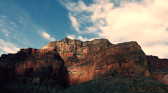 Grand Canyon Arizona Landscape Clouds Timelapse Stock Footage
