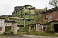 Stock Photo of abandoned factory building