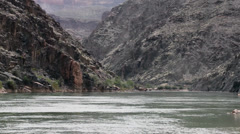 Colorado River in Grand Canyon Stock Footage