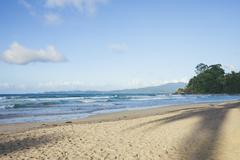 Beach in Puerto Princesa in the Philippines Stock Photos