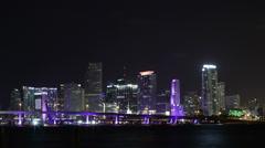 Miami Timelapse Medium Shot HD - stock footage