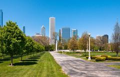 Grant Park, Chicago Stock Photos