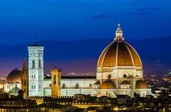 Cathedral of santa maria del fiore (duomo)florence Stock Photos