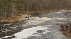 Wisconsin river rapids Stock Footage