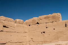 Temple of Karnak, Egypt - Exterior elements - stock photo