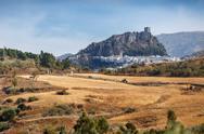Zahara de la Sierra, Cadiz Stock Photos