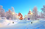 Stock Photo of Kiruna cathedral Sweden