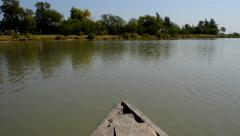 River of Sunderban from a moving boat. Stock Footage