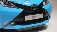 Toyota Aygo 4 Stock Footage