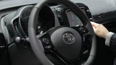 Toyota wheel Stock Footage