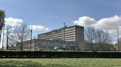 Ealing Hospital, London, UK. Stock Footage