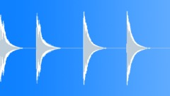 Dark Metallic Impact (4 Sounds) Sound Effect