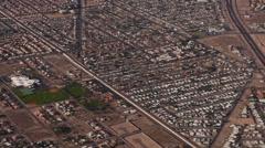 Aerial American West 4193 - stock footage
