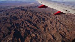 Aerial American Desert 4192 Stock Footage