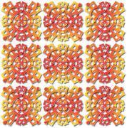 Aztec pattern Piirros