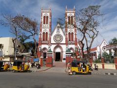Kirkko Sacred Heart of Jesus, Pondicherry Kuvituskuvat